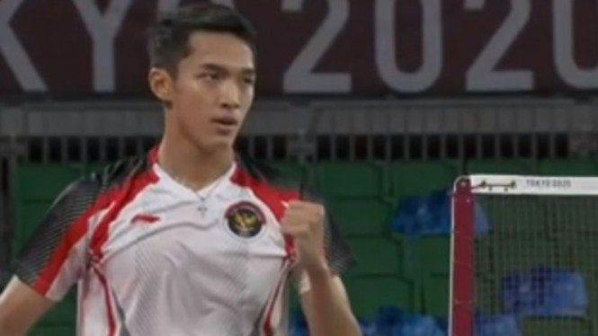 Tunggal Putra Indonesia, Jonatan Christie di Olimpiade Tokyo 2020