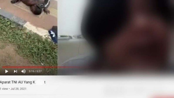 VIVA: Video seorang pemuda hardik oknum TNI Angkatan Udara