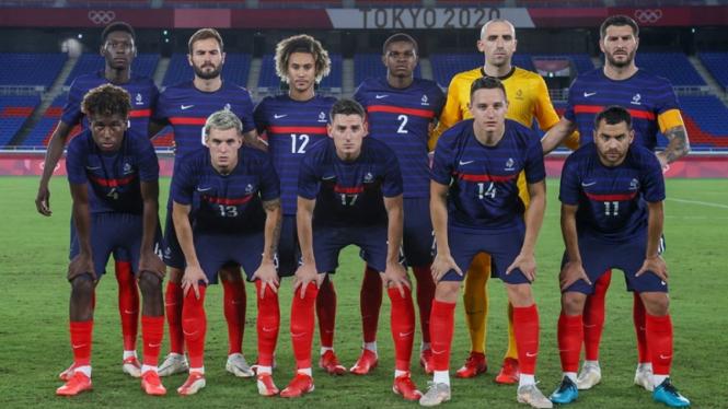 Skuad Timnas Prancis U-23 di Olimpiade Tokyo 2020