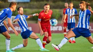 Pertandingan antara Porto vs AS Roma.