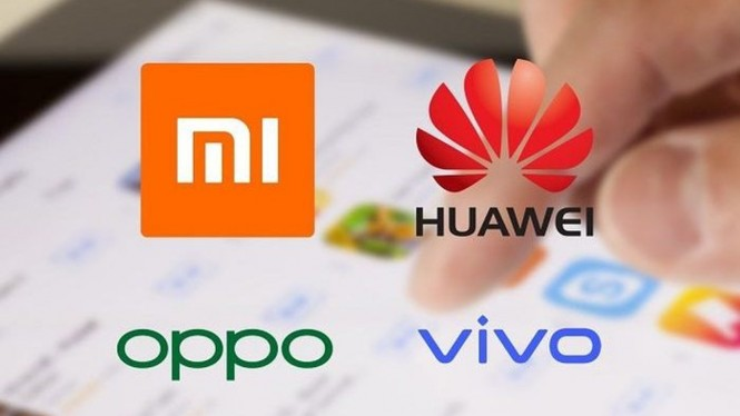 Huawei Makin Terpuruk, Vivo Kangkagi Xiaomi dan Oppo.