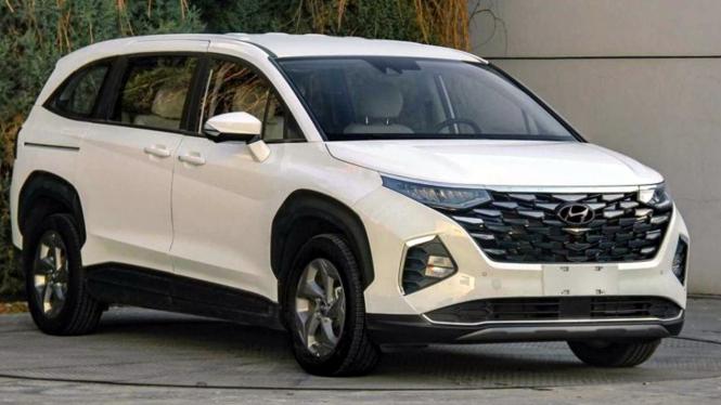 Bocoran mobil Hyundai Custo
