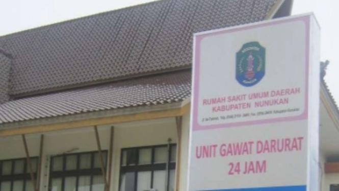 Rumah Sakit Umum Daerah (RSUD) Nunukan, Kalimantan Utara