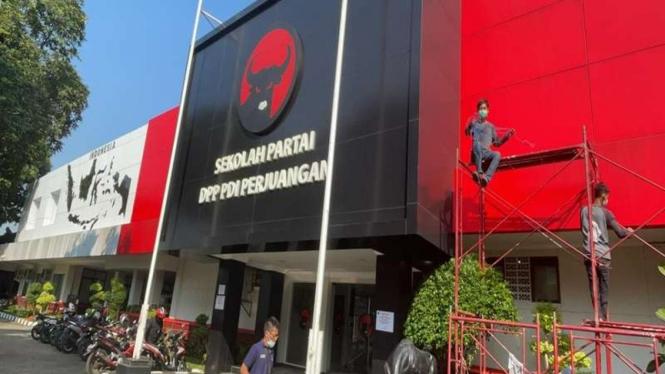 Kantor PDIP di Lenteng Agung akan diubah jadi sekolah partai