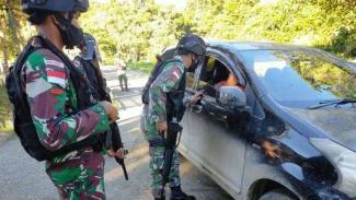VIVA Militer: Satgas Pamtas Yonif 131/BRS ringkus 6 orang terduga teroris OPM