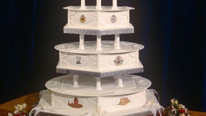 Kue Pernikahan Putri Diana