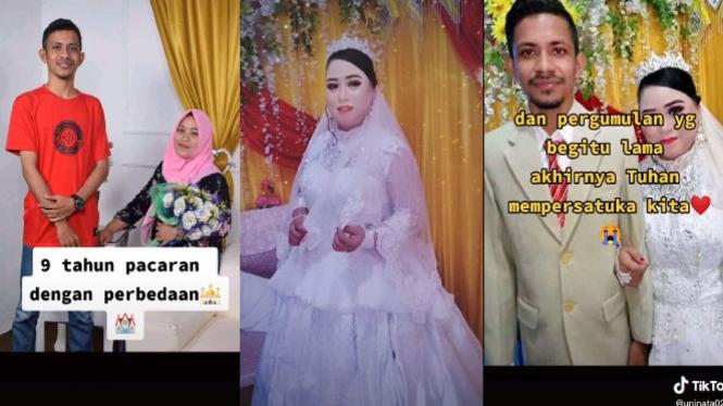 Viral 9 Tahun Pacaran, Wanita Ini Akhirnya Pindah Agama (TikTok/uninata0212)