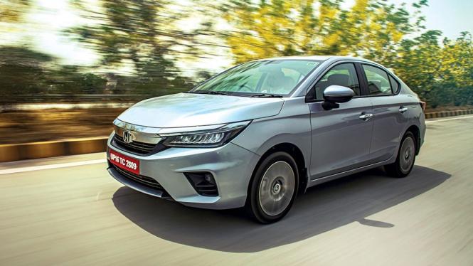 All New Honda City yang dijual di India.