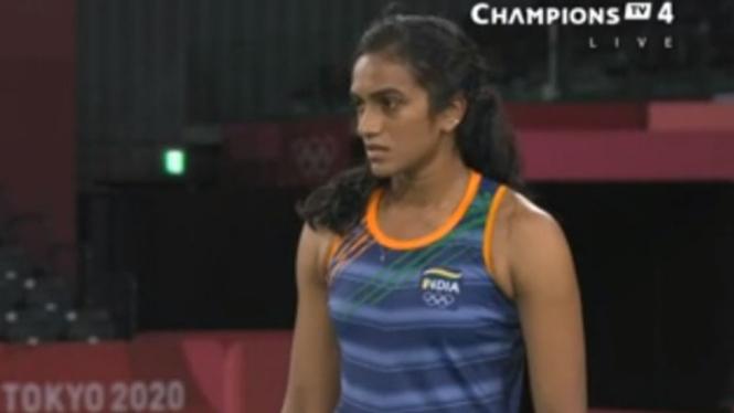 Tunggal putri India, Pusarla Venkata Sindhu di Olimpiade Tokyo 2020