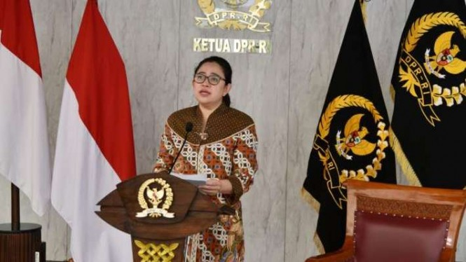 Ketua DPR, Puan Maharani.