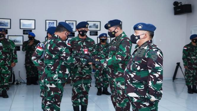 Pangkoopsau III Marsda TNI Bowo Budiarto lantik  DanLanud J.A. Dimara Merauke