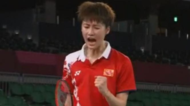 Tunggal putri China, Chen Yufei di Olimpiade Tokyo 2020