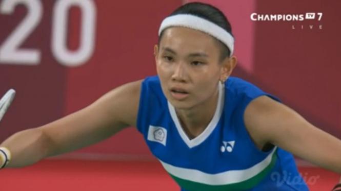 Tunggal putri Taiwan, Tai Tzu Ying di Olimpiade Tokyo 2020