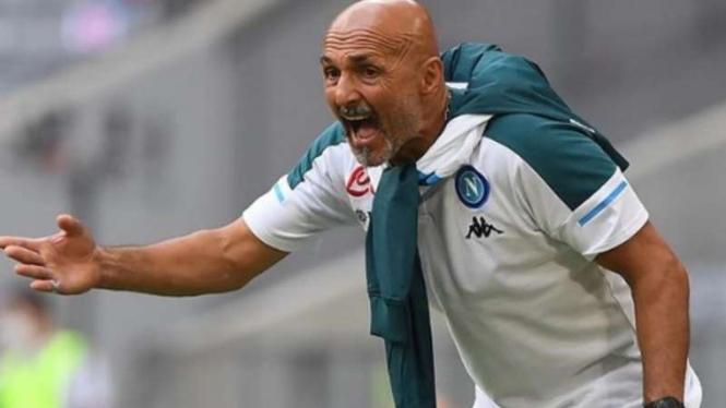 Pelatih Napoli, Luciano Spalletti.