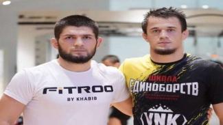 Khabib Nurmagomedov dan anak didiknya Usman