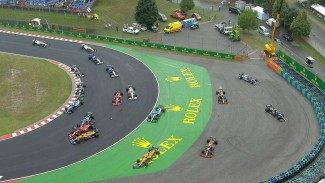 Kecelakaan di F1 GP Hungaria