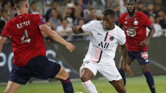 PSG vs Lille di Piala Super Prancis