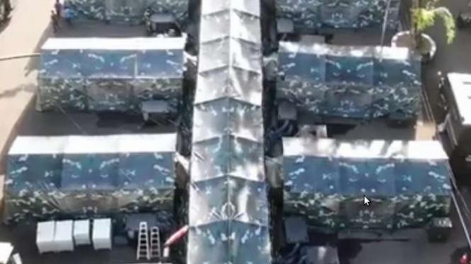 VIVA Militer: Instalasi Rumkitlap Yonkes Divif 1/1 Kostrad RSPAD Gatot Soebroto