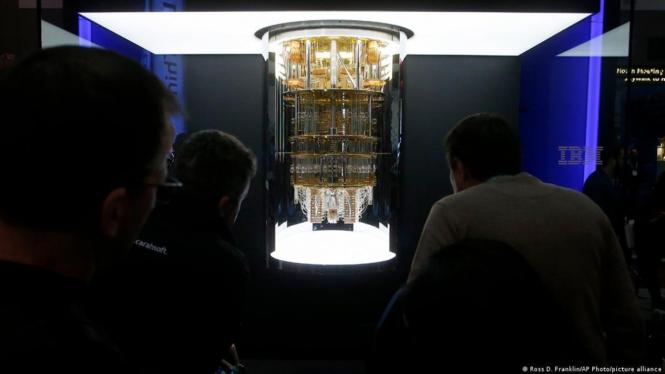 Komputer Kuantum IBM.