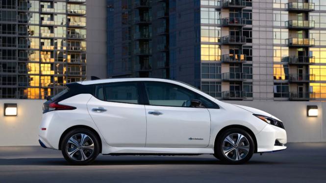 Nissan Leaf edisi 2021
