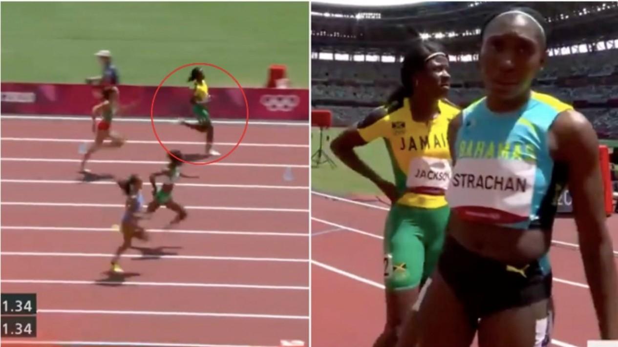 Sprinter Jamaika Shericka Jackson