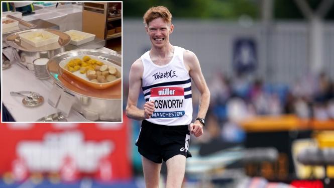 Atlet jalan cepat dari Inggris Raya, Tom Bosworth