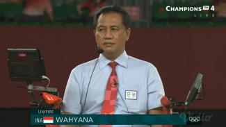 Wasit dari Indonesia, Wahyana pimpin final Olimpiade Tokyo 2020.