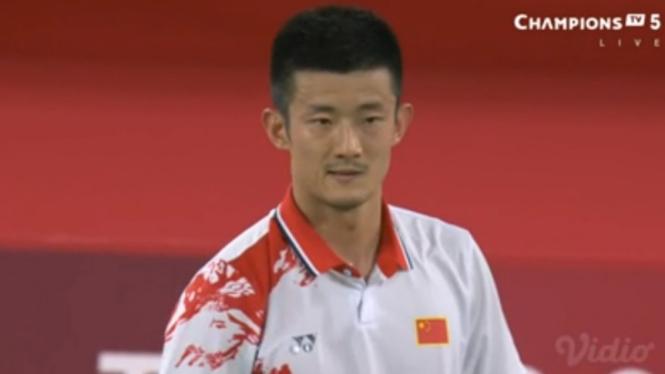 Tunggal putra China, Chen Long di Olimpiade Tokyo 2020