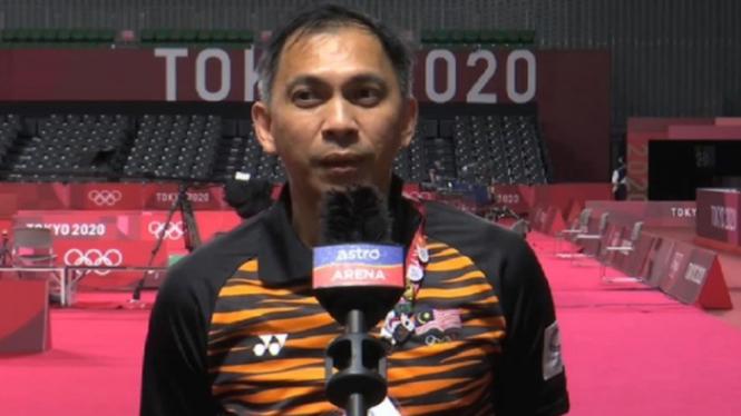 Flandy Limpele, pelatih ganda putra Malaysia Aaron Chia/Soh Wooi Yik