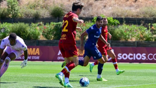 Belenenses vs AS Roma di laga uji coba pramusim