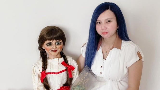 Priscilia Wibowo dan Boneka Spiritnya