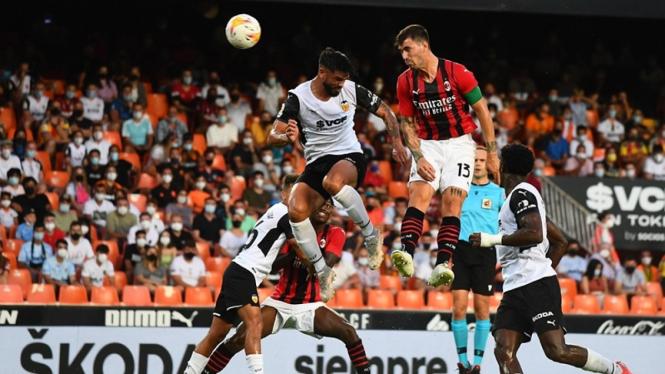 Pertandingan Valencia vs AC Milan