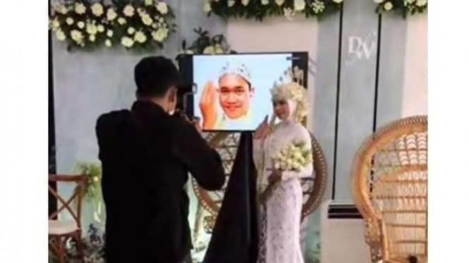 Pemotretan pernikahan virtual