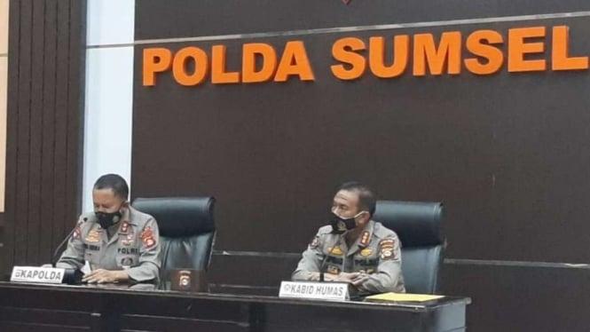 Kepala Polda Sumatera Selatan, Irjen Pol Prof Eko Indra Heri.