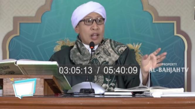 Ceramah Buya Yahya: Orang Meninggal Tak Akan Gentayangan (YouTube/Al-Bahjah TV)