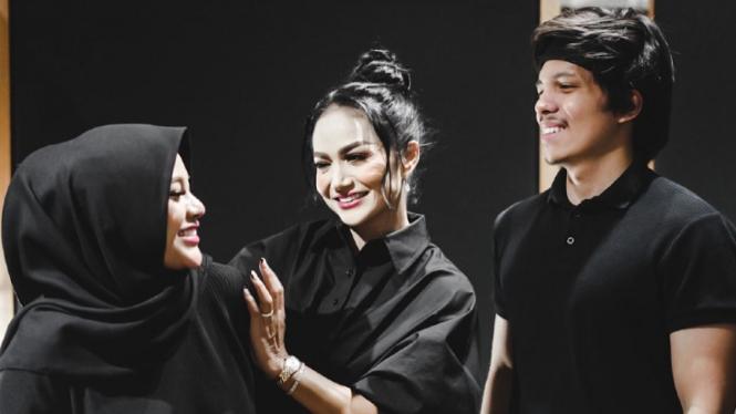 Aurel Hermansyah, Krisdayanti dan Atta Halilintar.