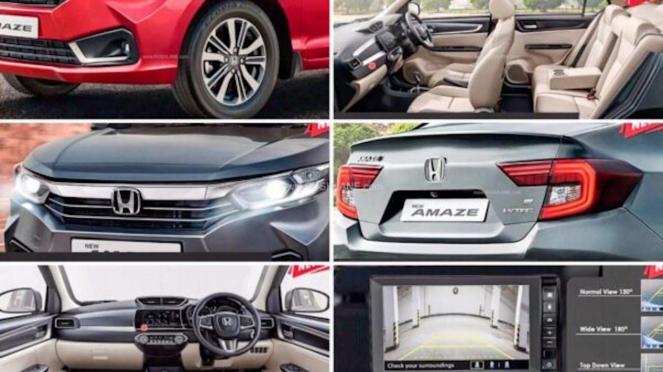 Brosur mobil Honda Amaze edisi 2021.