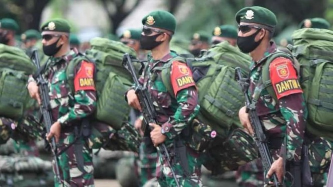 VIVA Militer: Pasukan Yonif Para Raider 431/Satria Setia Perkasa