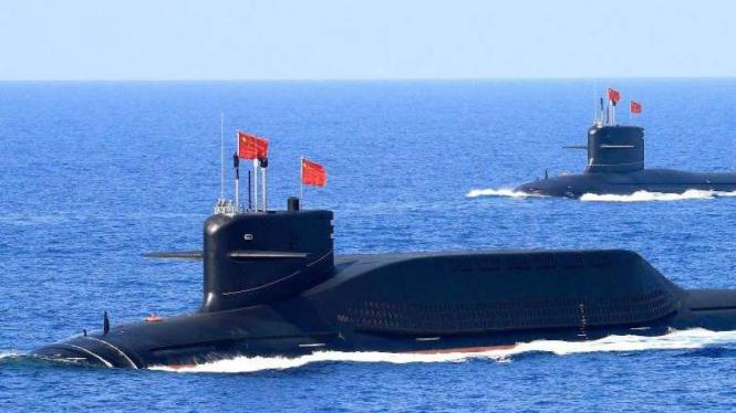 VIVA Militer: Kapal selam nuklir Type 093 Angkatan Laut China
