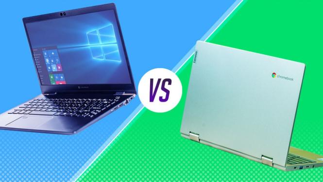 Chromebook vs Laptop.