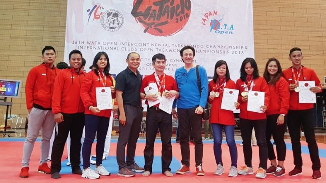 Taekwondo Indonesia (Ilustrasi)