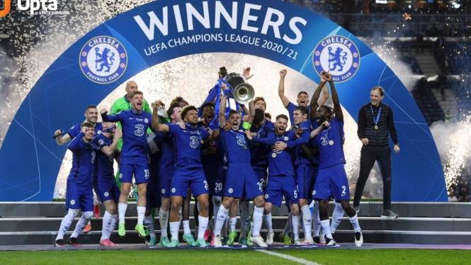 Chelsea juara Piala Super Eropa