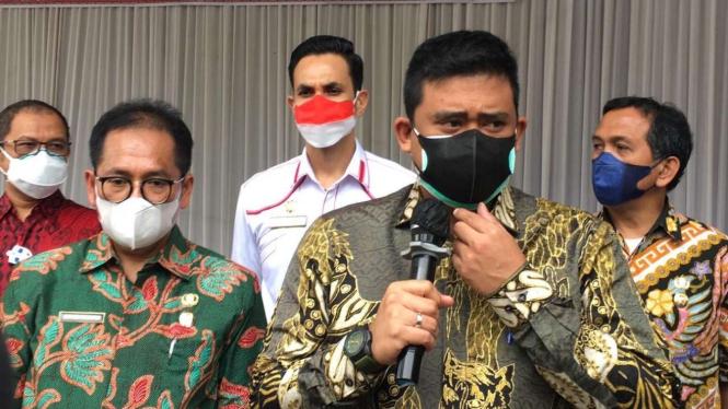 Wali Kota Medan, Muhammad Bobby Afif Nasution.