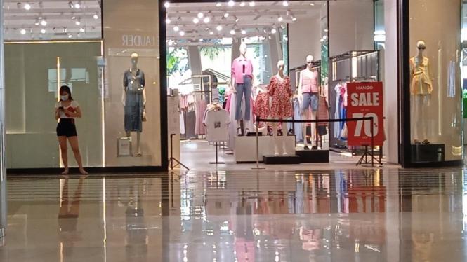 Pusat Perbelanjaan atau Mall saat Pandemi Covid-19