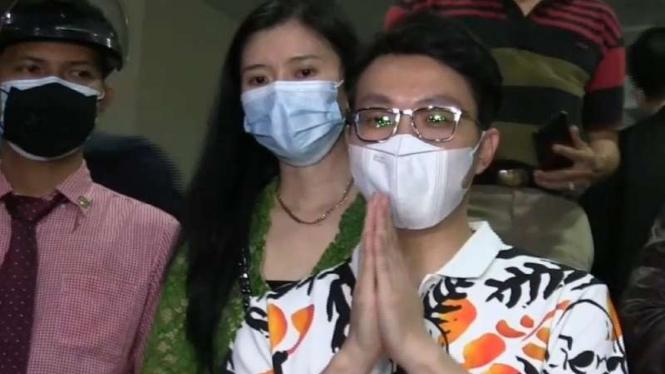 Dokter Richard Lee di Polda Metro Jaya