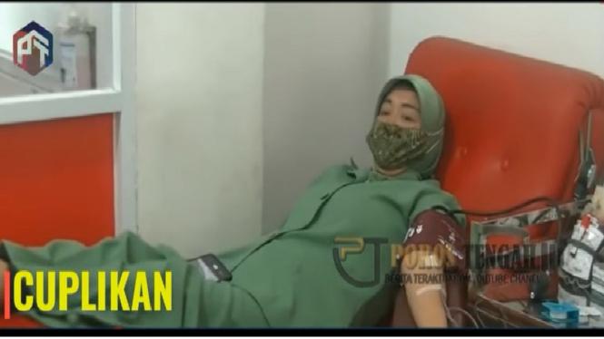 Foto hoax soal Istri Pangkostrad Letjen TNI Dudung Abdrurachman dibilang sakit