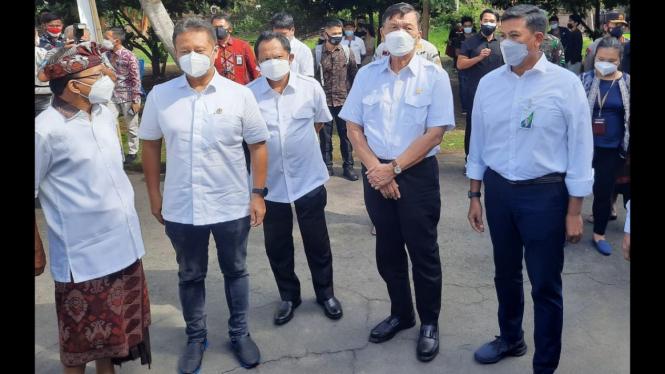 BPJAMSOSTEK menyelenggarakan vaksinasi Covid-19 di Bali (11/08)