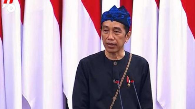 Pidato Kenegaraan Presiden Jokowi saat sidang tahunan MPR 2021