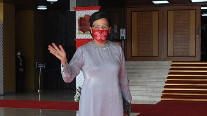Sri Mulyani Hadiri Sidang Tahunan MPR RI