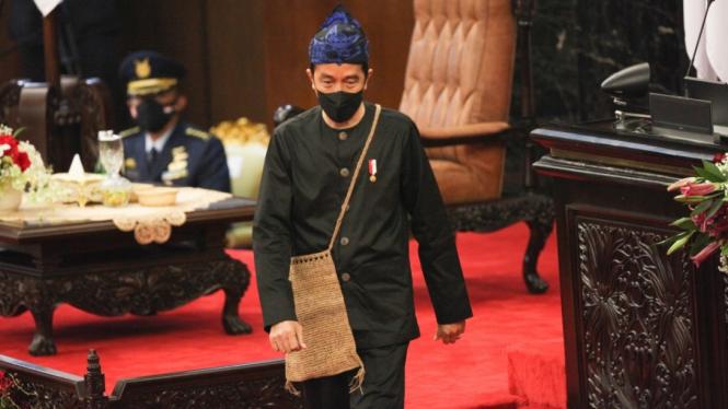 Pidato Kenegaraan Presiden Joko Widodo di Sidang Tahunan MPR DPR RI